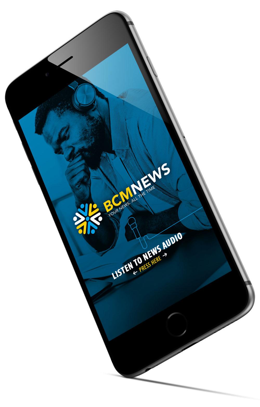 BCM News App 3D